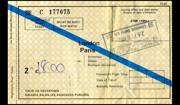 The cost of the Jim Morrison Paris Pilgrimage in 1982